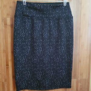 Apt.9 Blue Pencil Skirt Tummy Control